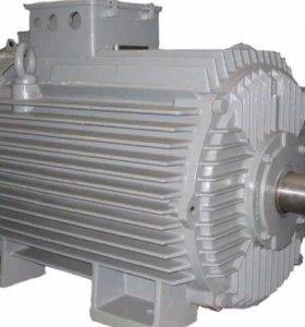 Двигатель крановый с фазным ротором