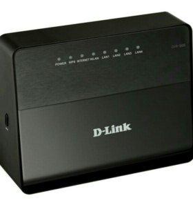 Роутер-маршрутизатор D- Link