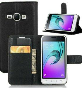 Чехол новый  для Samsung Galaxy J1 , чехол-пенал.