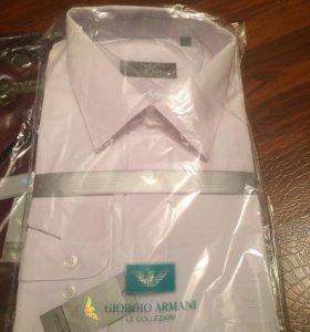 Рубашки итальянские Армани разные цвета и размеры
