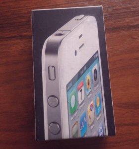 Коробка от iPhone 4 32 гб