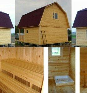 Ремонт и стройка домов, бань и кровальные работы.