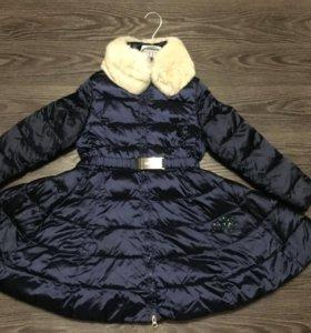 Зимнее пальто Кивиленд в стиле Одри