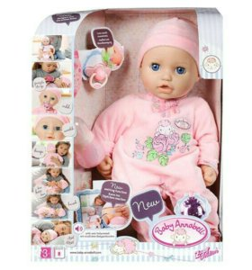 "Кукла ""Babу Annabell""43см."