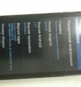 Смартфон Samsung GALAXY Ace2 GT-I8160