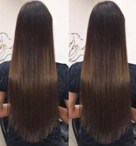 Наращивание волос любой объем