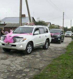 Свадебные украшения банты на автомобиль