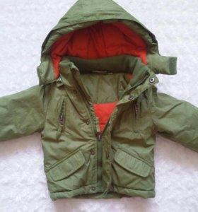 Куртка демисезонная мальчуковая 80 см