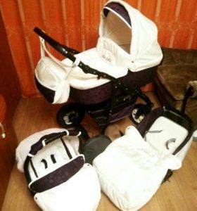 """Детская коляска """"Bavario"""" 3 в 1"""