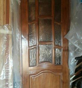 Дверь межкомнатная со стеклом