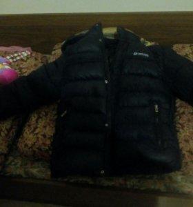 Куртка зимняя для подростка 12-13 лет