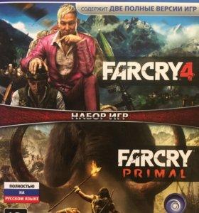 Farcry 4 + Farcry primal
