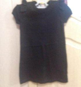 Платье с блестками 110-116
