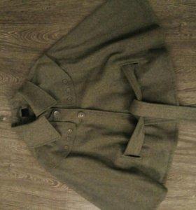 Пальто пончо