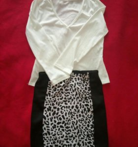 Комплекты юбка + топ, либо по отдельности