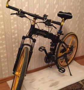 Велосипед с дисковым ободом