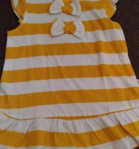 Новое летнее платье crockid