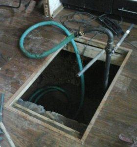Бурение и чистка скважин