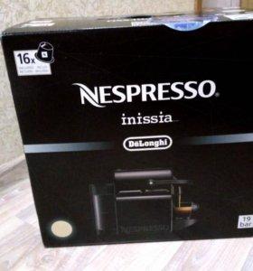 Кофемашина Nespresso Inissia от Delonghi