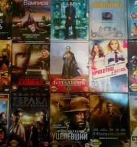 DVD диски,кино,фильмы,клипы,лицензия,б/у.