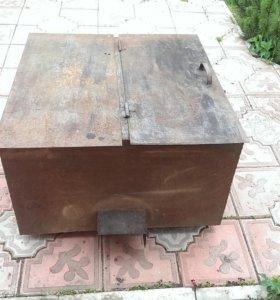 Стальной бок для душа с подогревом 290 литров