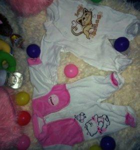 Детские костюмы и шапочки( пакетом)
