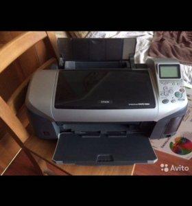 Струйный принтер и сканер epson