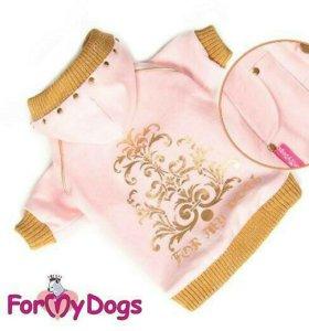 Кофта розовая (одежда для собак)