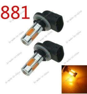 LED светодиодные лампы H27w2.