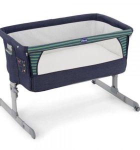 Кровать колыбель Chicco next2me