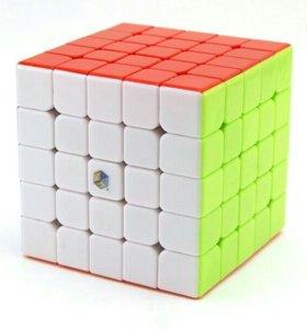Кубик Рубика YuXin 5x5x5 - PurpleUnicorn новый