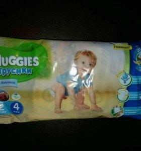 Трусики-подгузники Huggies для девочек и мальчиков
