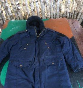 Военная зимняя куртка ! Идеальная .