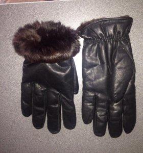 Перчатки мужские, зимние
