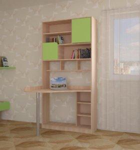 Компьютерный стол+стеллаж