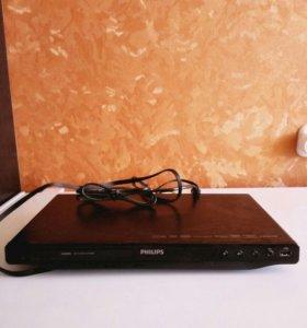 Видеоплеер Филипс с CDROM,USB..
