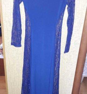 Вечернее платье размер 42-46 новое!!!