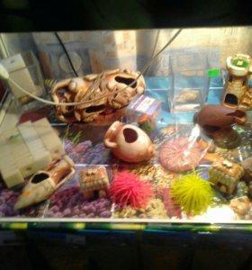 Декоры аквариумные
