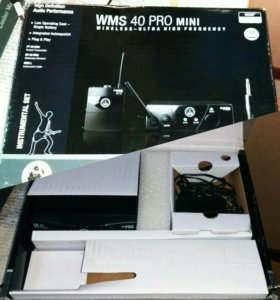 беспроводная система akg wms40 mini instrumental