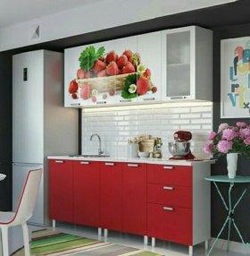 Кухни с фотопечатью 1.8 и 2.0 м.