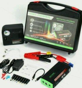 Пускозарядное устройство Jump Starter + компрессор