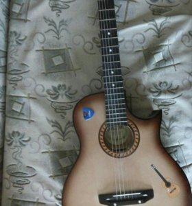 Акустическая гитара с ижевского завода
