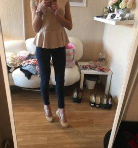 Джинсы и туфли