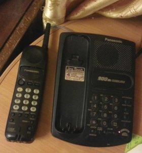 Радиотелефон Panasonic с антенной