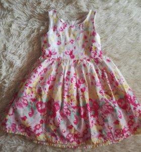 Платье с подъюбником.