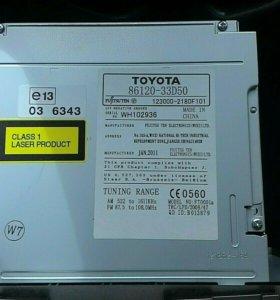 Магнитола Toyota camry 86120-33d50