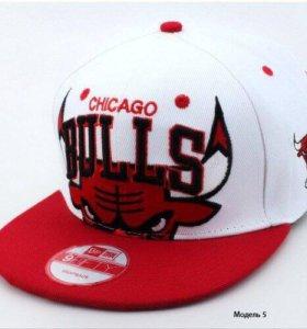 Новая Бейсболка Chicago bulls