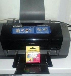 Принтер epson s48