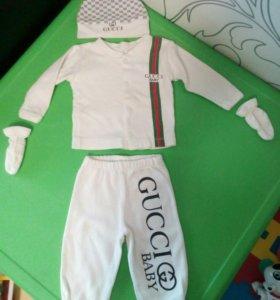 Комплект на малыша Gucci