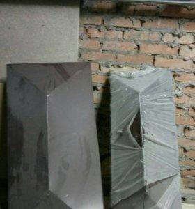Колпаки на забор из полиэстера 0,5мм толщиной